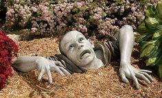 Cement Garden Faces   Cool Garden Statues and Decor: Create a DIY Statue