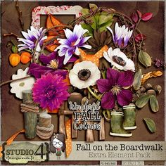 Fall on the Boardwalk - Extra Elements