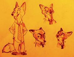With all the Zootopia art coming out now, you'd think there won't be anything left for us to draw after the movie actually comes out! Description from alexbee1236.deviantart.com. I searched for this on bing.com/images