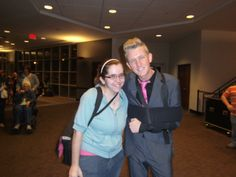Me and my hero, Devin McGlamery on March 16, 2012