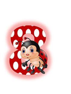 S.T.R.U.M.F.: Litere mari si cifre buburuze Math Subtraction, Teaching Tools, Ladybug, Smurfs, Alphabet, Minnie Mouse, Disney Characters, Fictional Characters, Collage