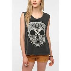 Truly Madly Deeply Pretty Skull Tank | Pretty Little Liars