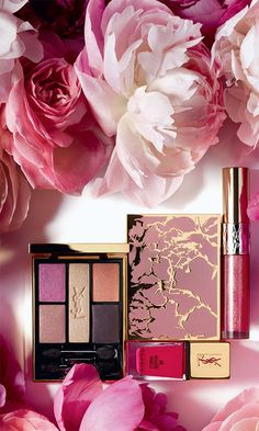 #YSL Spring Look Collection for Spring 2014 #makeup #beautytrends
