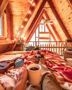 Are A-frame Cabin Kits Worth it? Cabin Kits, Cabin Ideas, Camper Renovation, Cozy Cabin, Cabin Loft, Tiny House Cabin, Cozy House, Lakefront Property, Cabin Homes