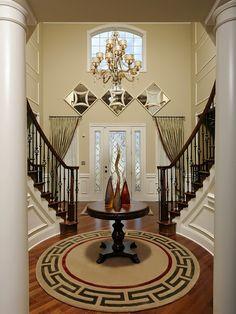 #NewHomesinLosAngeles luxury foyer designs