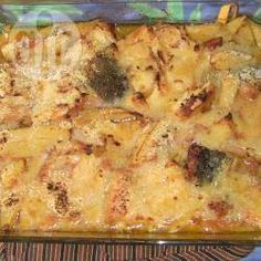 Bacalhau com batata gratinado @ allrecipes.com.br