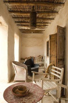 Slaapkamer: Marokko (room divider Xenos?)