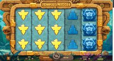 The nudge is king as NetEnt takes players deep into the jungle on a treasure hunt in search of ancient gold - Return to Player Coin Values, Casino Games, Slot, Lush, Temple, Exotic, Articles, Symbols, Deep