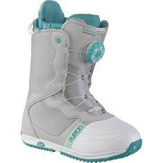 Burton Bootique Snowboard Boot Grey / White / Teal Women's GRAY/WHITE/TEAL 7 Burton http://www.amazon.com/dp/B00B1K9BZ8/ref=cm_sw_r_pi_dp_eVeSub0HMH6QA