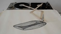Two Turntables Are A Drawing Machine | The Creators Project
