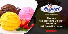 Dive into the appetizing world of ice cream with Mental Ice Cream