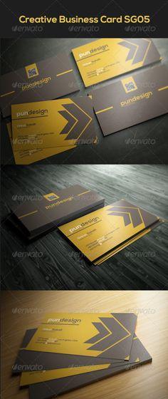 Creative Business Card SG05