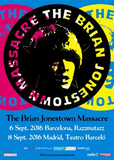 BRIAN JONESTOWN MASSACRE 2016