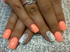 Great peach color
