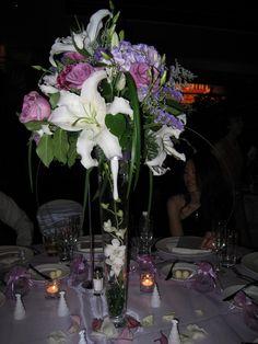 Fancy tall flower arrangements - Wedding Decorator Blog