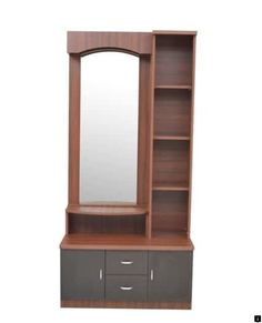 Buy Regent Dressing Table in Wenge Finish by Crystal Furnitech Online - Dressing Units - Tables - Furniture - Pepperfry Product Dressing Table Storage, Bedroom Dressing Table, Dressing Table Mirror, Dressing Cupboard, Dressing Table Wooden, Wardrobe With Dressing Table, Selling Furniture, Home Decor Furniture, Table Furniture
