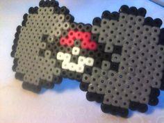 Pokeball perler bead Bow by GeekyGamerShop on deviantart