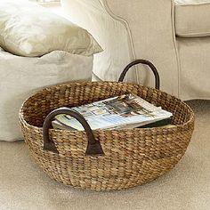Water Hyacinth Wok Basket