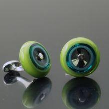 Cuff Links | Kristin Perkins Glass Jewelry, LLC