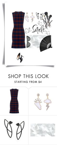"""""""🌹🌹🌹"""" by lolla-cher ❤ liked on Polyvore featuring 10 Crosby Derek Lam, WALL, Victoria, Victoria Beckham, Joe Fresh and dress"""