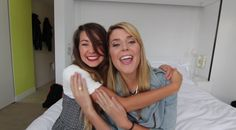 Zoella and Grace Helbig