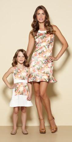 Lookbook - vestido mãe e filha