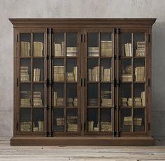 French Casement 4-Door Cabinet