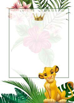 Safari Theme Birthday, Lion King Birthday, Baby Boy 1st Birthday Party, Happy Birthday, Lion King Theme, Lion King Party, Simba E Nala, Image Lion, Lion King Pictures
