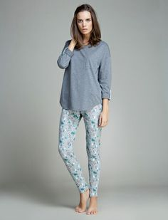 women'secret   Productos   Pijama largo de algodón
