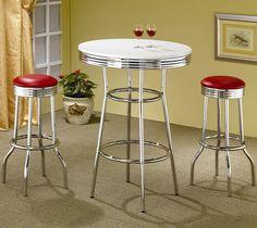 arredamento-anni-60-tavolino-sgabelli-bar