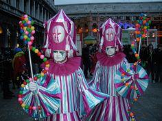masks on parade venice carnival 2014