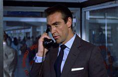 Classic combo: light blue shirt, dark(er) tie, charcoal suit & white pocket square