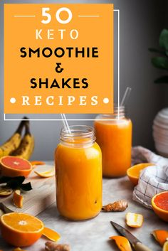 50 Low Carb Shakes and Smoothie Recipes which will help you Losing Weight