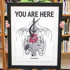 You Are Here Print now featured on Fab.