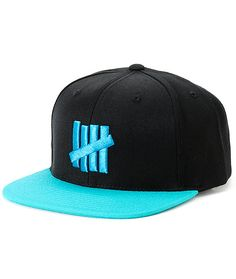 5e3dd67a77be1 Undefeated 5 Strike Snapback Hat