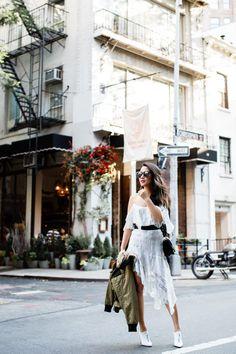 A Little Paris :: Asymmetric lace