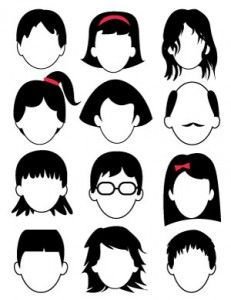 gezichtjes tekenen