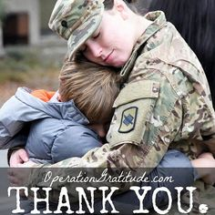 """Join Operation Gratitude as we say """"thank you"""" to all who serve!  In 2017 U.S. Service Members are still deploying so that means we're still supporting them with Operation Gratitude care packages packed full of personal hygiene items, """"handmade-with-love"""" gifts, snacks, coffee, letters of thanks and lots of other goodies! If your loved one is deployed, visit our website to request a free care package today!  Caption: Specialist Victoria Eckert, the Public Affairs Specialist assigned to the…"""