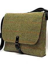 This Gloriously British Harris Tweed bag is strong and practical… just like its new owner!