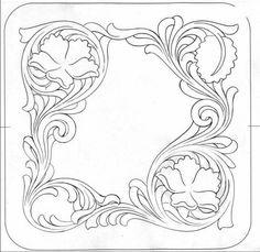 Bildergebnis für free leather tooling patterns