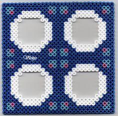 Rahmen Bügelperlen/  Frame perler beads