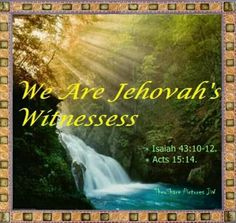 "A Witness is someone who tells the truth in behalf of someone who is on trial or in behalf of someone whom lies have been told to clear their name. Jehovah's Witnesses give a ""witness"" to the truths about God and expose the lies that have been taught about him through the use of the scriptures. Read the bible in more than 760 languages at JW.ORG."