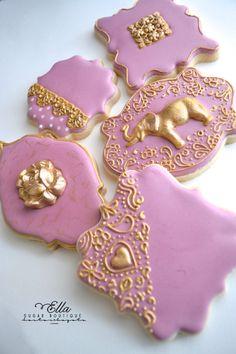 Golden palace cookie set