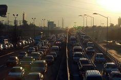 Así amaneció en la ciudad de Guadalajara; la contaminación dificultaba la vista a lo lejos.