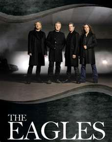 The Eagles- favorite band of all time! Seen twice, here in town.