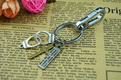 Silvery Key ChainCross Key Chain  individuality by BeautifulShow, $4.99