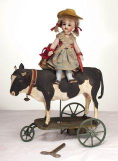 Автомат-платформа фирмы VICHY Куколка на Корове