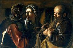 Caravaggio, 'Denial of St. Peter,' Met Museum of Art