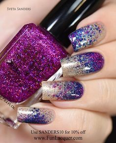 Use discount code SANDERS10 for 10% off! www.funlacquer.com @funlacquer #funlacquer