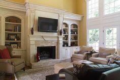 Mary Trantow - traditional - family room - atlanta - Mary Trantow